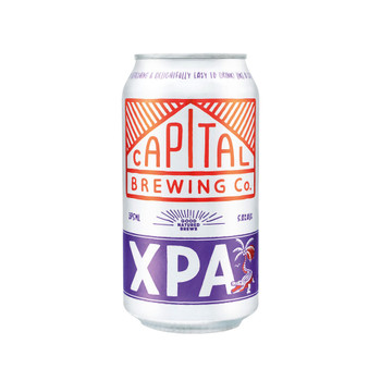 Capital Brewing XPA Cans 375ml