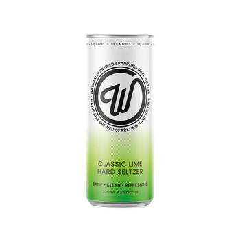 Wayward Seltzer Classic Lime 330ml