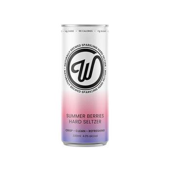 Wayward Seltzer Summer Berries 330ml