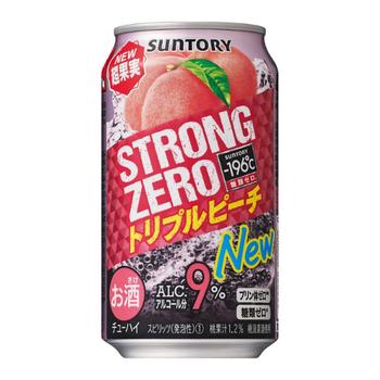 Suntory Strong Zero Peach  9% Cans 350ml
