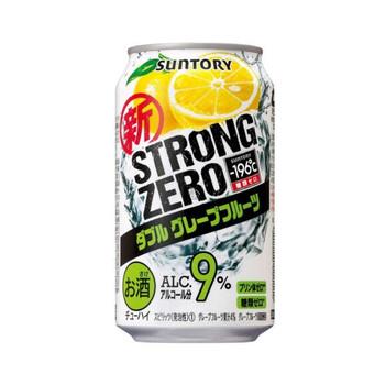 Suntory Strong Zero Grapefruit  9% Cans 350ml
