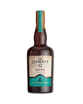 The Glenlivet 12 Year Illicit Still Single Malt Scotch Whisky 700mL