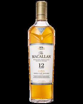 The Macallan 12 Year Triple Cask Single Malt Scotch Whisky 700mL