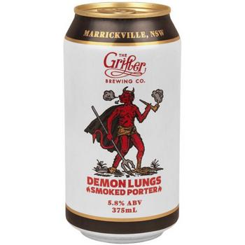 Grifter Brewing Co Demon Lungs Porter