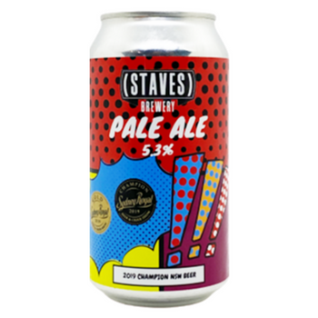 Staves Brewery Pale Ale