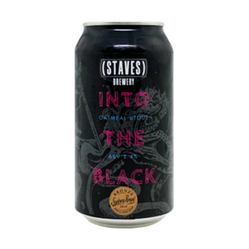 Staves Brewery Into The Black Oatmeal Stout