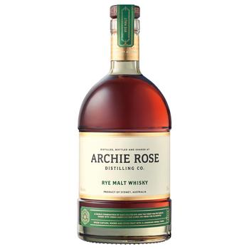 Archie Rose Rye Malt Whisky 700ml