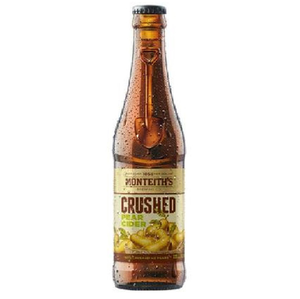 Monteith's Crushed Pear Cider Bottles 330ml