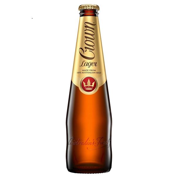 Crown Lager Bottles 375ml