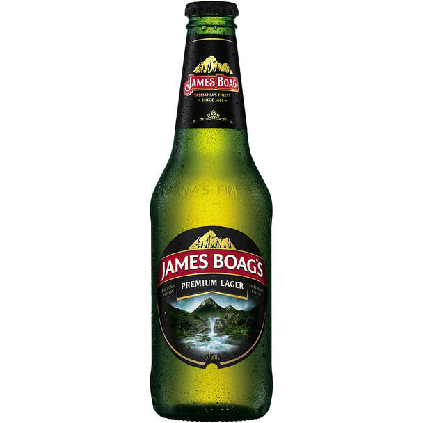 James Boag's Premium Lager Bottles 375ml