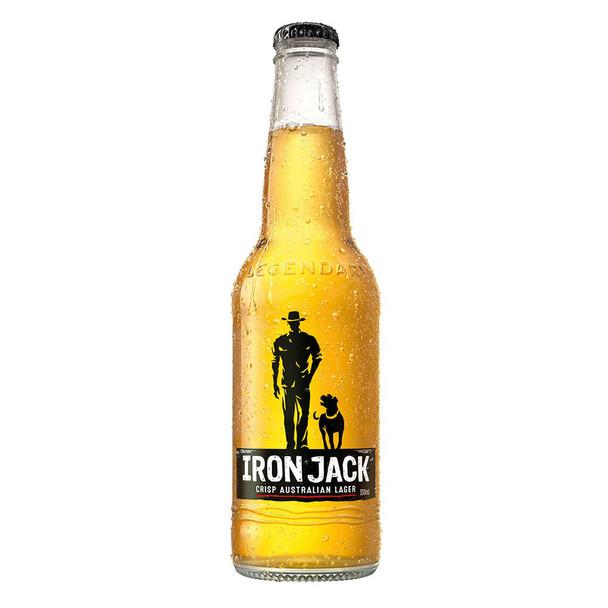 Iron Jack Full Strength Lager Bottles 330ml