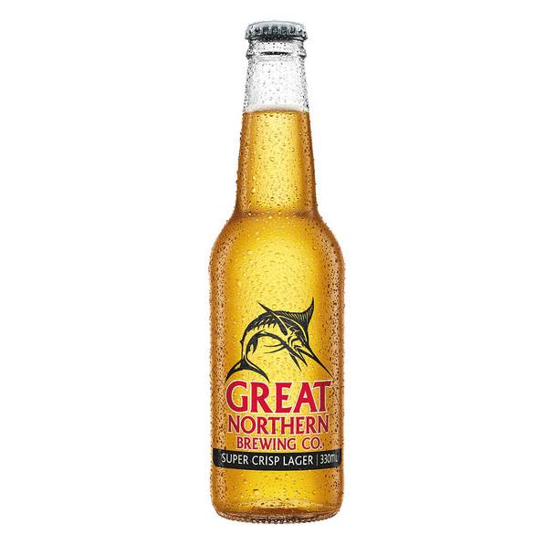 Great Northern Super Crisp Mid Strength Lager Bottles 355ml
