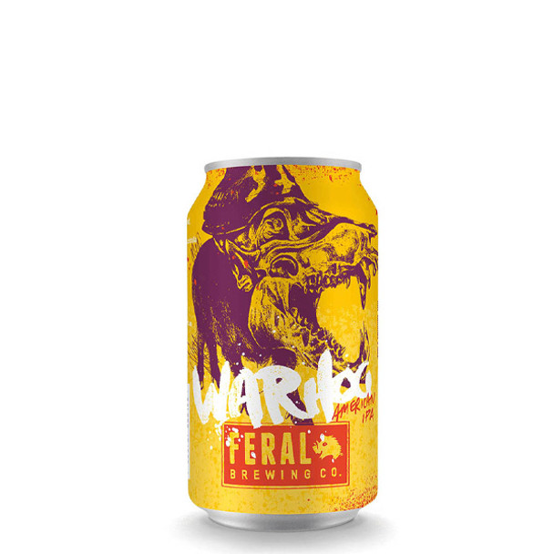 Feral Brewing Co War Hog IPA Cans 375ml