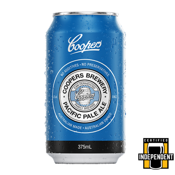 Coopers Brewery Pacific Pale Ale Cans 375ml