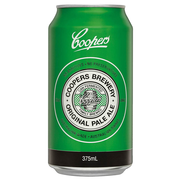 Coopers Brewery Original Pale Ale Cans 375ml