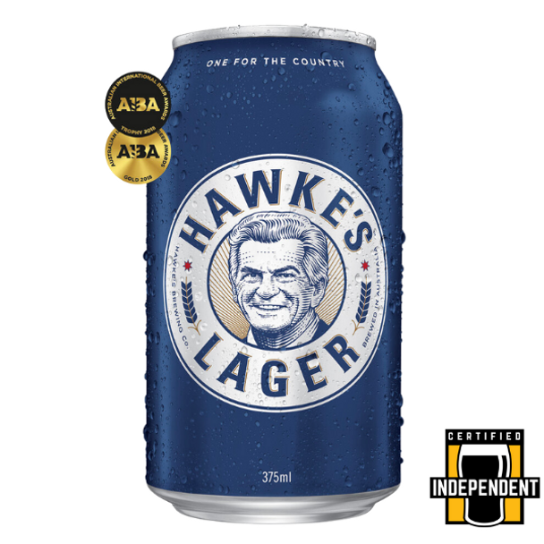 Hawkes Brewing Co Lager Cans 375ml