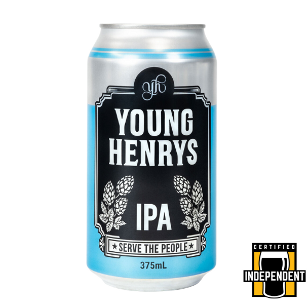 Young Henrys American Style IPA Cans 375ml
