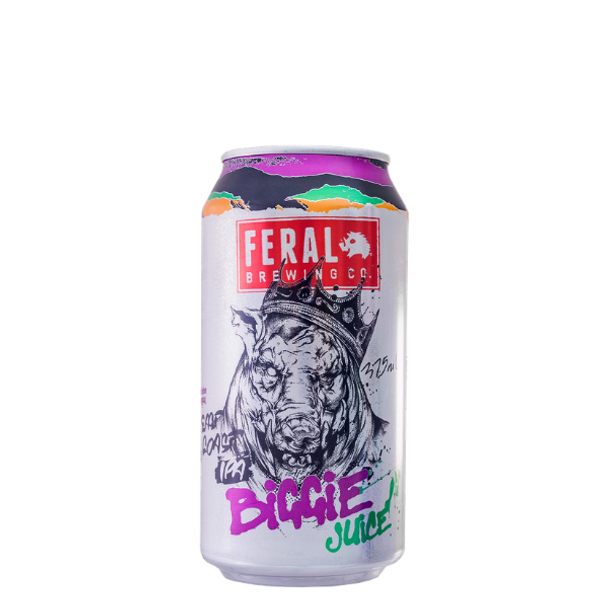 Feral Brewing Co Biggie Juice East Coast IPA Cans 375ml