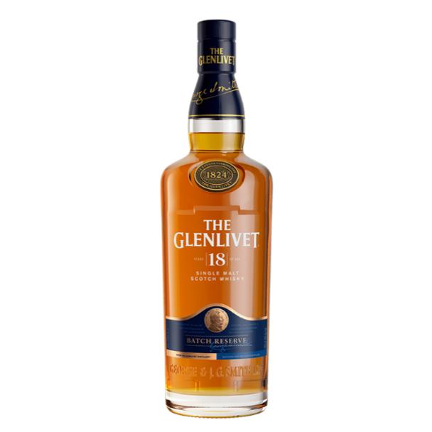 The Glenlivet Single Malt Scotch Whisky 18 Years Old 700ml
