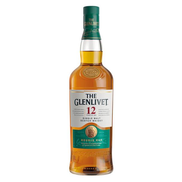 The Glenlivet Single Malt Scotch Whisky 12 Years Old 700ml