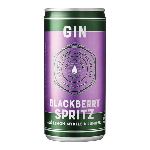 Archie Rose Cocktail Blackberry Spritz