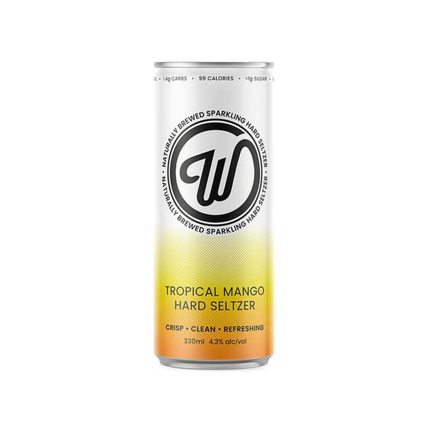 Wayward Seltzer Tropical Mango 330ml