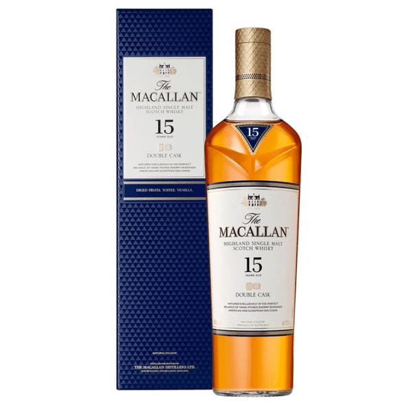 The Macallan Double Cask 15 Year Single Malt Scotch Whisky 700mL