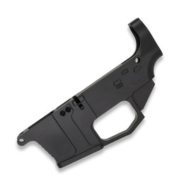 AR9 80 Lower Receiver (Billet) - Anodized from White Label Armory 9MM