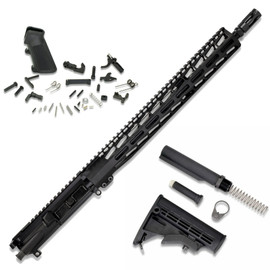 """AR15 Kit (Rifle) - 5.56 w/ 16"""" Barrel - No Receiver from White Label Armory"""