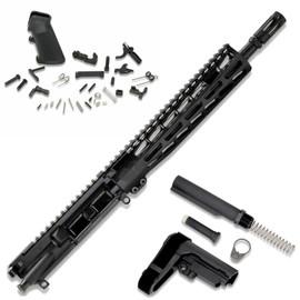 "AR15 Premium Pistol Kit—5.56 w/ 11.5"" Barrel, 9.85"" MLOK —No Receiver by White Label Armory"