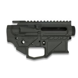 ATX Armory Adonis AR15 Billet Receiver Set Graphite Black at White Label Armory