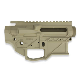 ATX Armory Adonis AR15 Billet Receiver Set FDE at White Label Armory