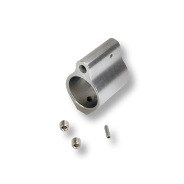 """AR10 / AR15 Low Profile Stainless Steel Gas Block—.750"""" Set Screw by White Label Armory"""