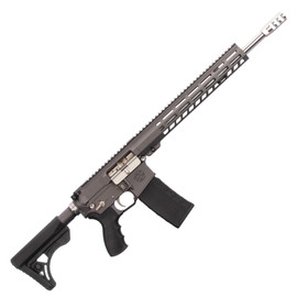 Saltwater Arms Barracuda Rifle 5.56 16 in. Barrel with 13 in. Handguard on White Label Armory produced by DRG Manufacturing