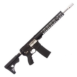 Saltwater Arms Blackfin Rifle 5.56 16 in. Barrel with 13 in. Handguard on White Label Armory produced by DRG Manufacturing