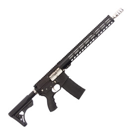 Saltwater Arms Blackfin Rifle 5.56 16 in. Barrel with 15 in. Handguard on White Label Armory produced by DRG Manufacturing