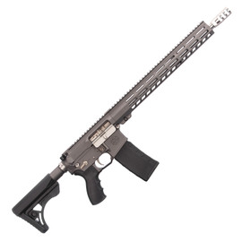 Saltwater Arms Barracuda Rifle 5.56 16 in. Barrel with 15 in. Handguard on White Label Armory produced by DRG Manufacturing