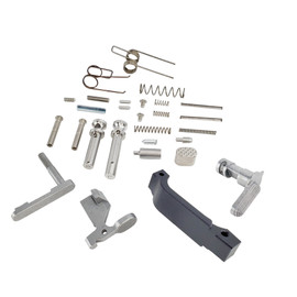 Saltwater Arms Blackfin™ AR15/M16 Stainless Steel Lower Parts Kit, 5.56, Assembler's Special distributed by White Label Armory
