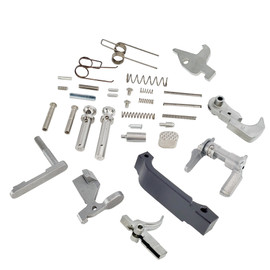 Saltwater Arms Barracuda™ AR15/M16 Stainless Steel Lower Parts Kit: Complete, No Grip distributed by White Label Armory