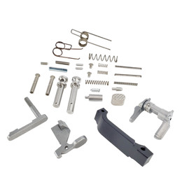 Saltwater Arms Barracuda™ AR15/M16 Stainless Steel Lower Parts Kit, 5.56, Assembler's Special distributed by White Label Armory