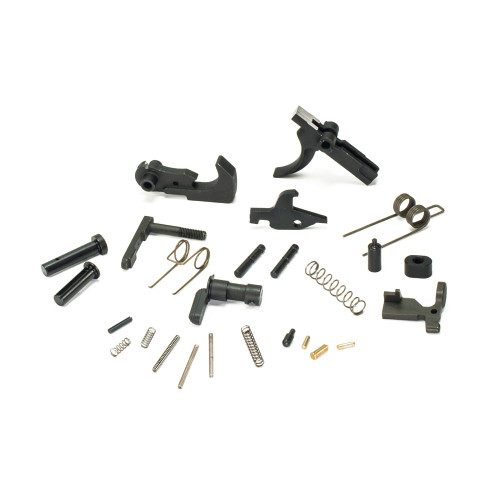 AR15 Lower Parts Kit - No Trigger Guard, No Grip - Phosphate