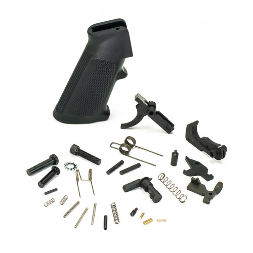 AR15 Pistol Caliber Lower Parts Kit - Phosphate by White Label Armory