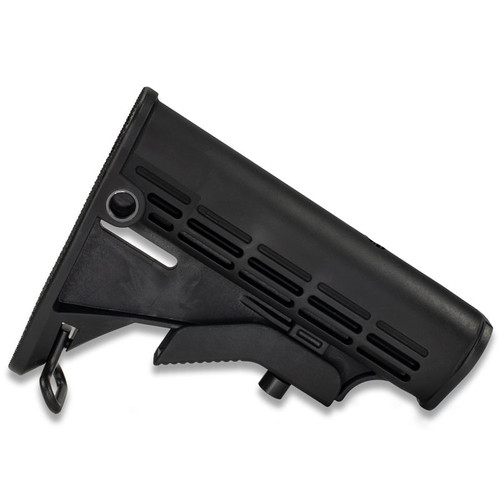 AR15  Carbine Stock - M4 Style with Quick Detach Swivel Mount from White Label Armory