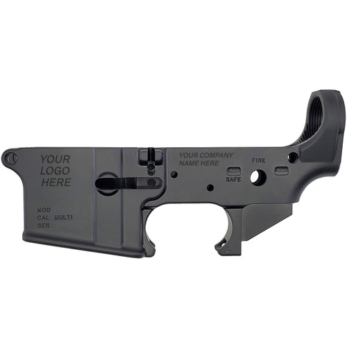 AR15 Lower Receiver (Forged)—Custom Variance by White Label Armory