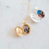 The Gold Stacy Locket