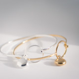 gold and silver locket bangles, photo included