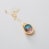 The Gold Evelyn Locket