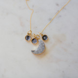 The Moon Locket Necklace
