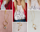 The Amy Locket: A Modern Petite Photo Keepsake Named After My Sister