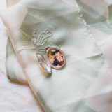 Locket for sister whose son passed away three years ago.